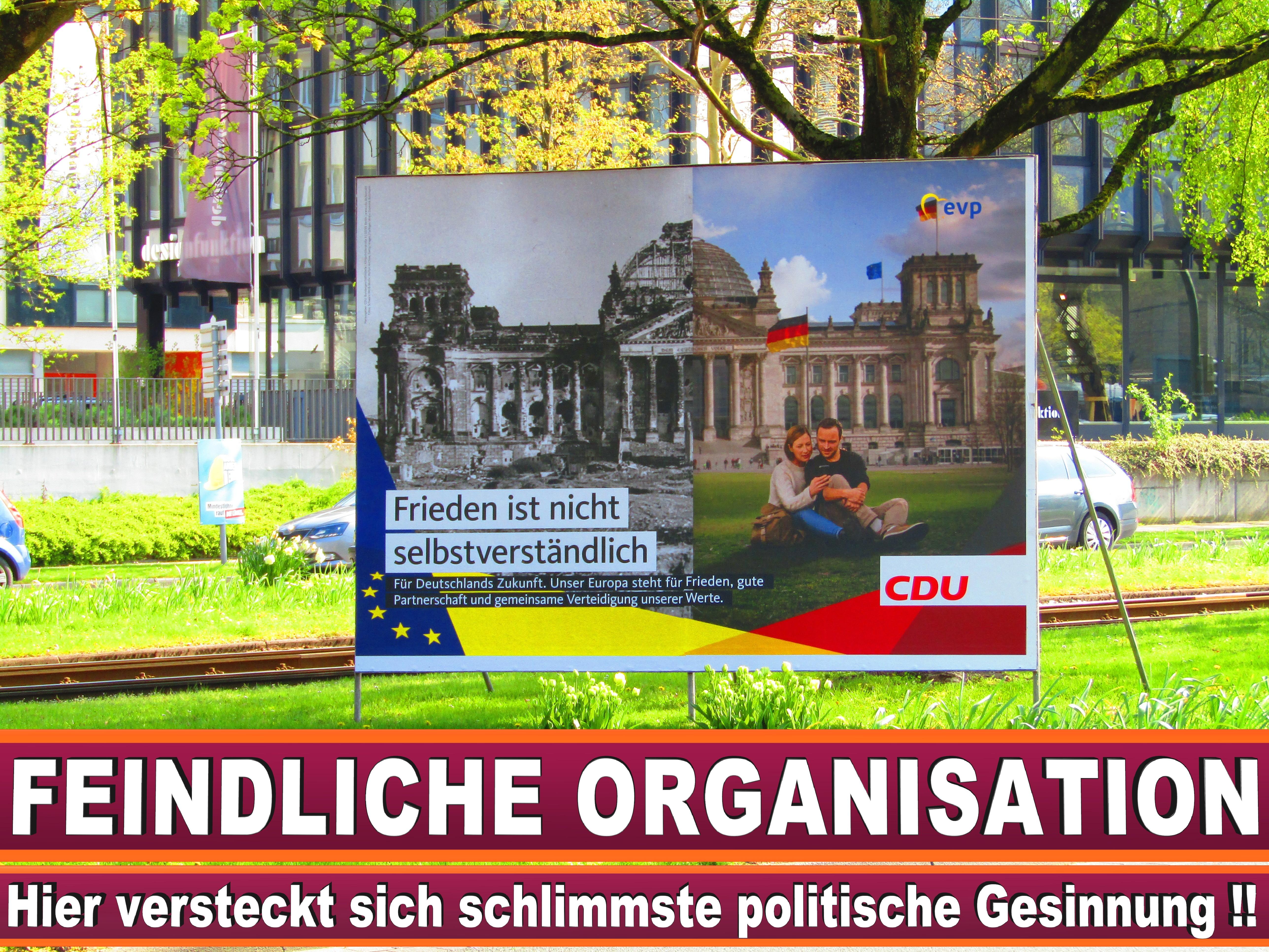 Europawahl Flyer