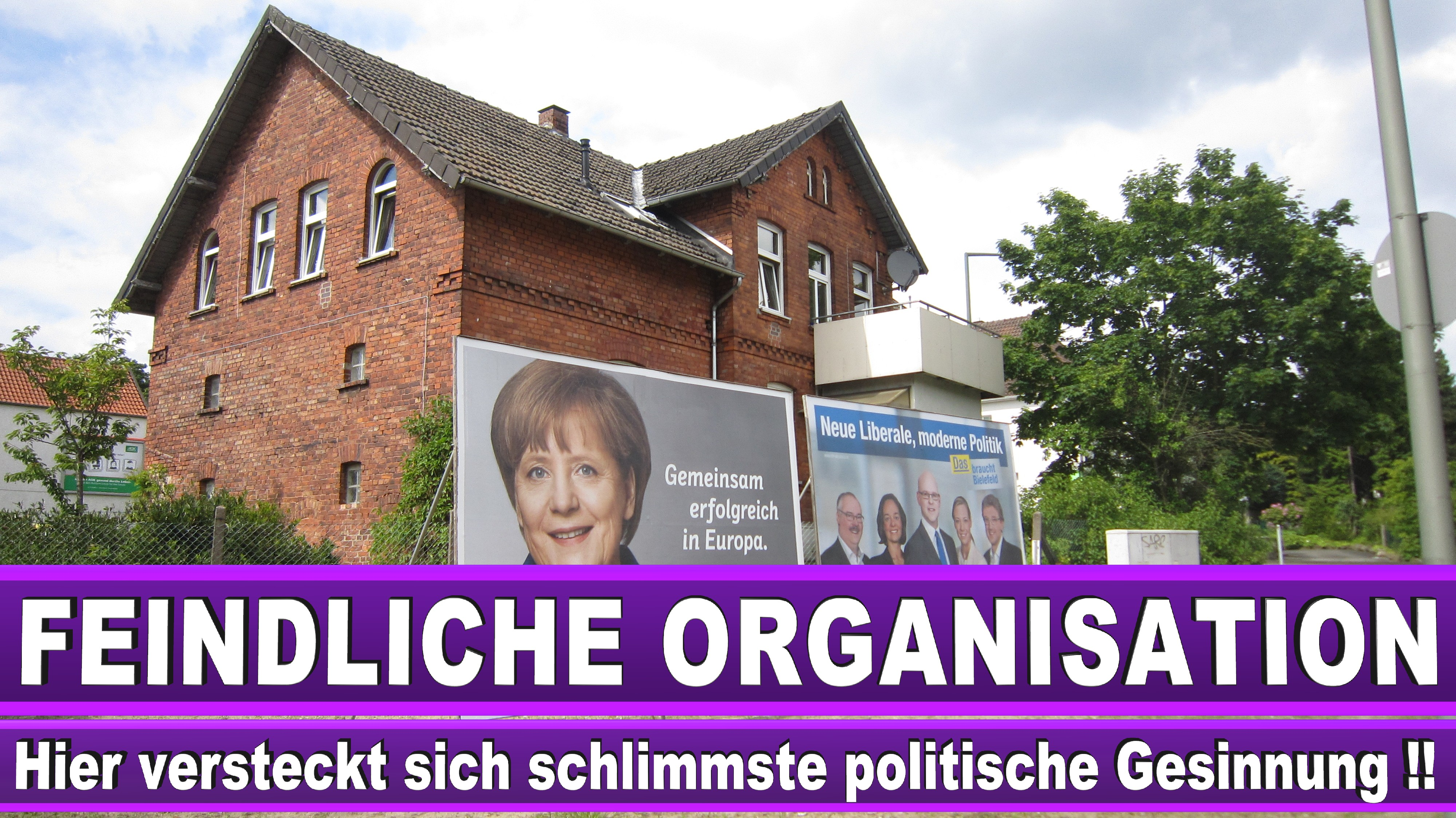Europawahl Plakate